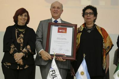 La Universidad de Guadalajara recibe el Mérito Editorial Universitario 2018